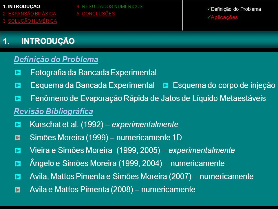 Fotografia da Bancada Experimental