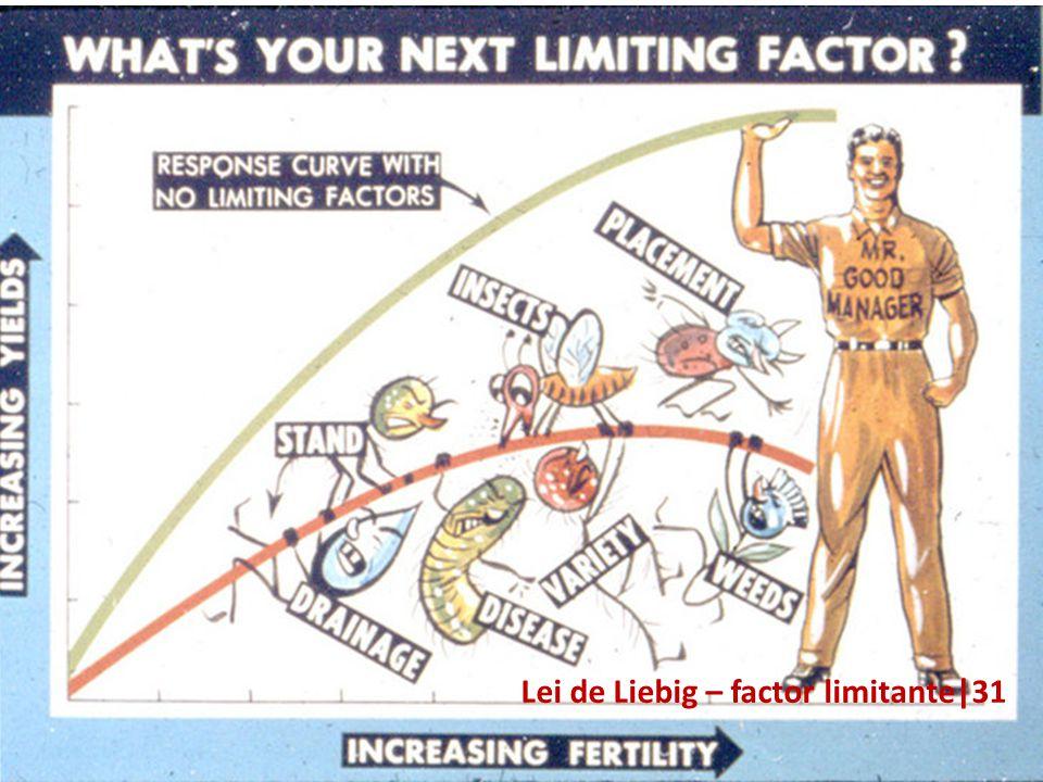 Lei de Liebig – factor limitante