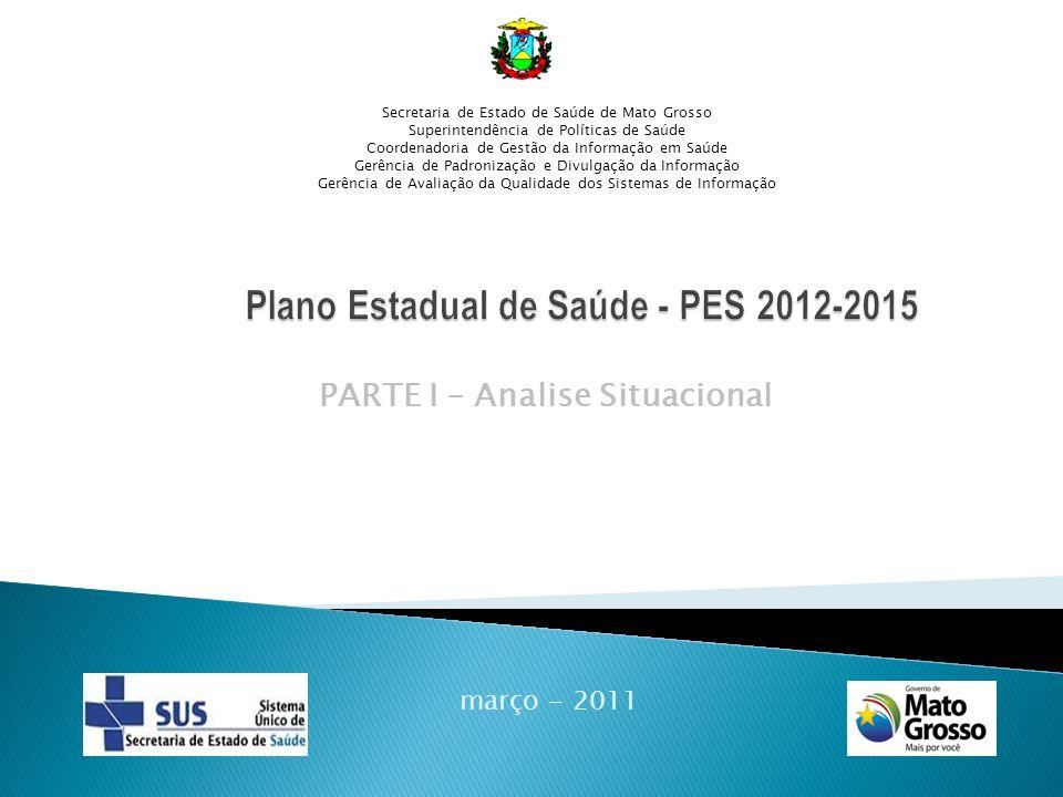 Plano Estadual de Saúde - PES 2012-2015