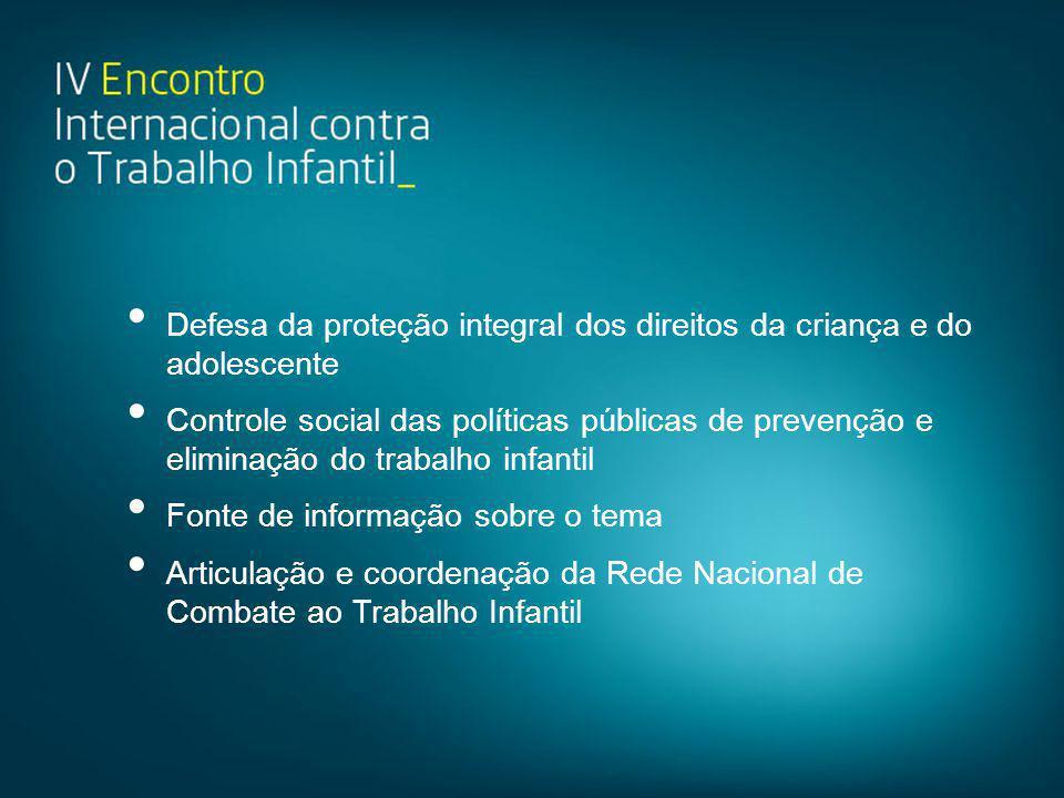 Defesa da proteção integral dos direitos da criança e do adolescente