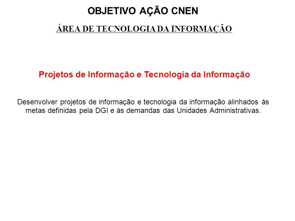 Projetos de Informação e Tecnologia da Informação