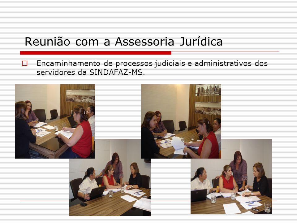 Reunião com a Assessoria Jurídica