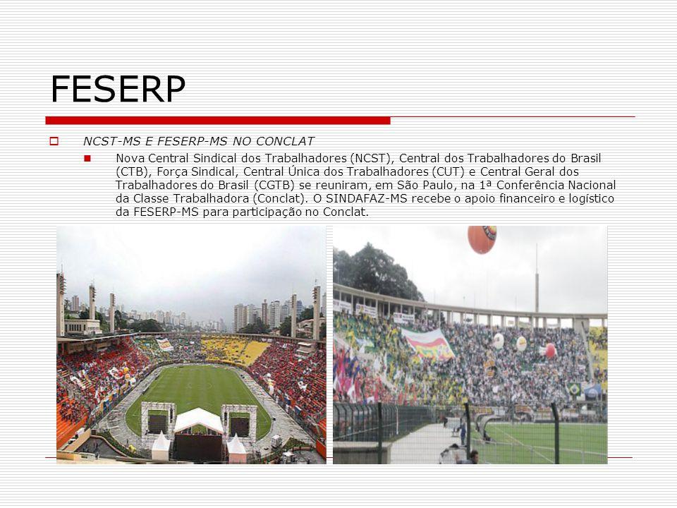 FESERP NCST-MS E FESERP-MS NO CONCLAT