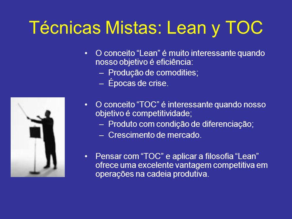 Técnicas Mistas: Lean y TOC