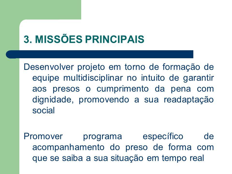 3. MISSÕES PRINCIPAIS