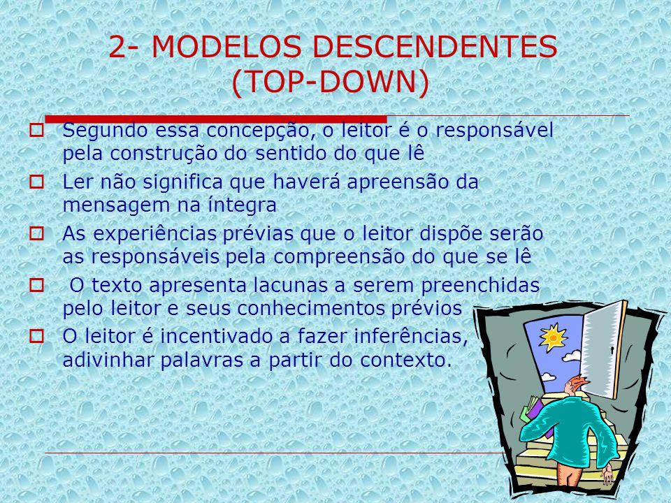 2- MODELOS DESCENDENTES
