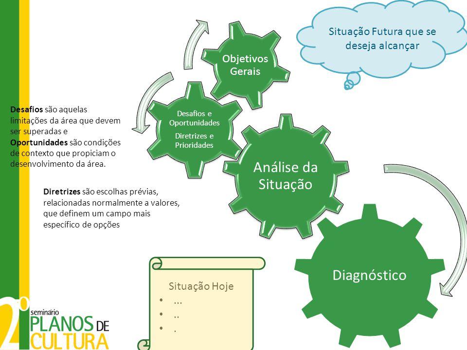 Análise da Situação Diagnóstico Objetivos Gerais