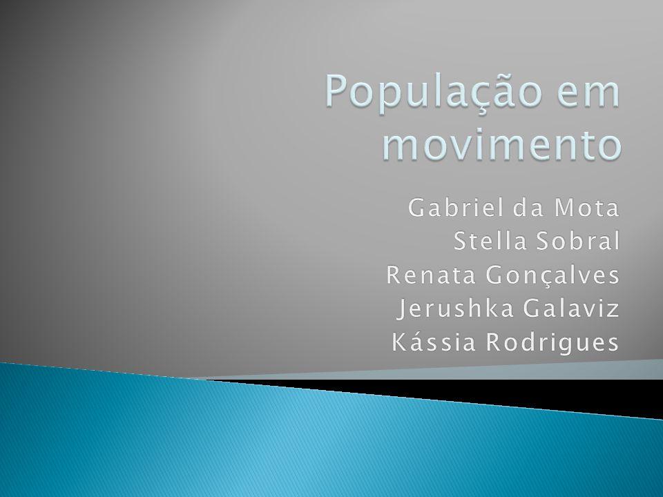 População em movimento