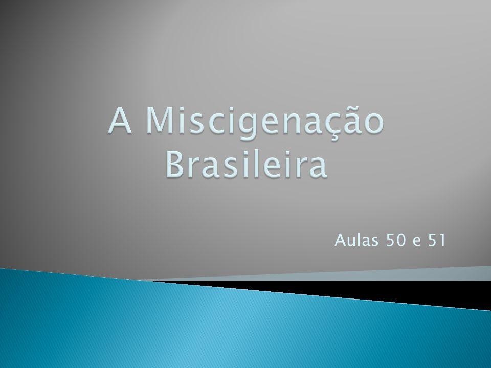 A Miscigenação Brasileira