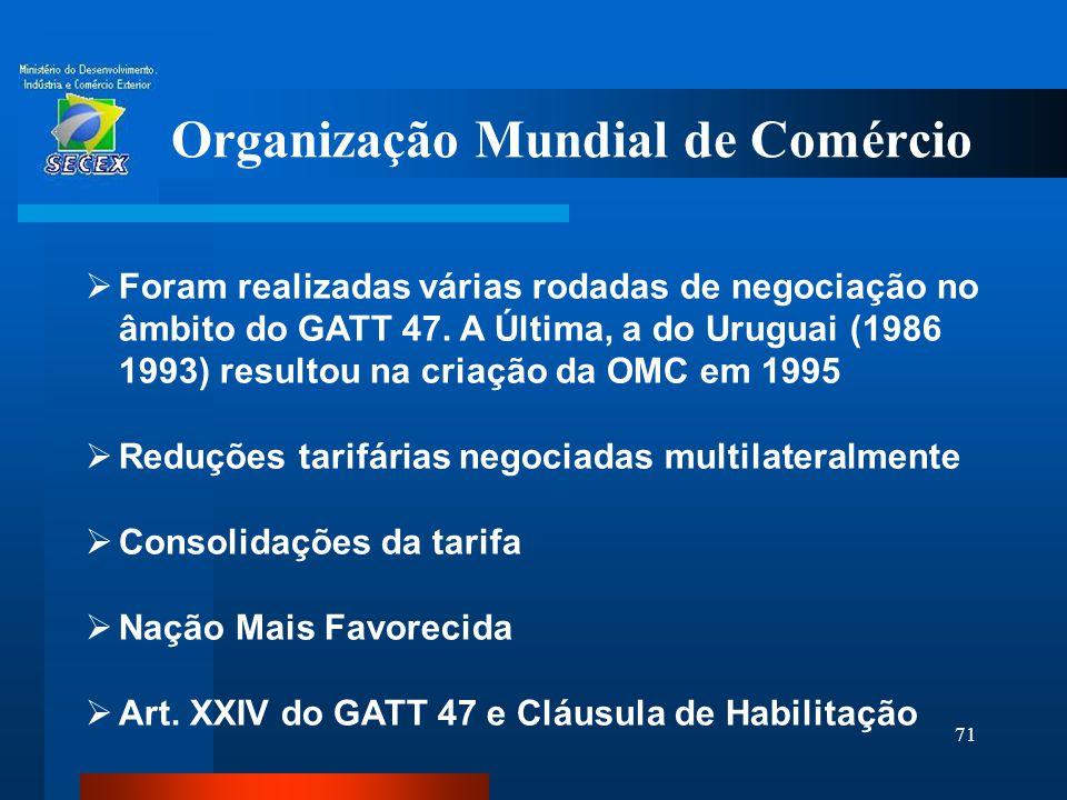 Organização Mundial de Comércio