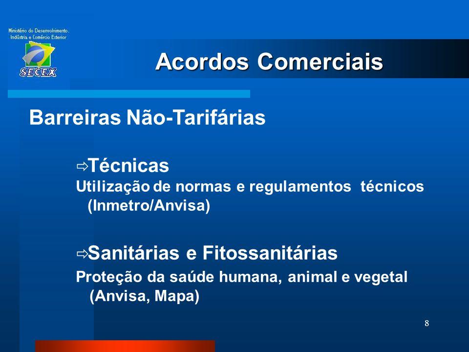 Acordos Comerciais Barreiras Não-Tarifárias Técnicas