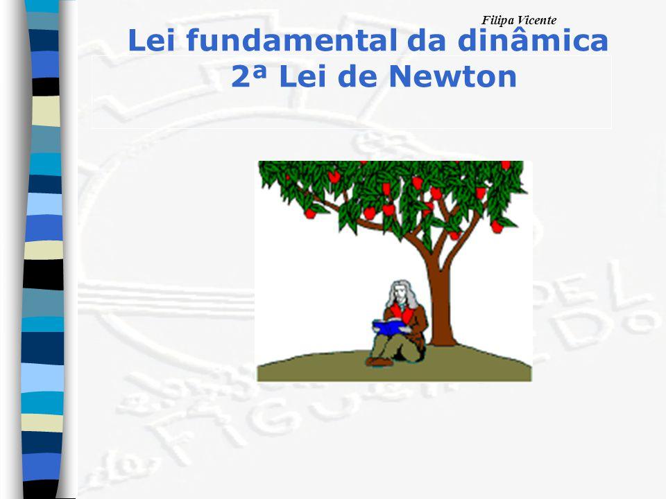 Lei fundamental da dinâmica 2ª Lei de Newton