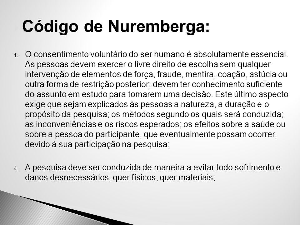 Código de Nuremberga: