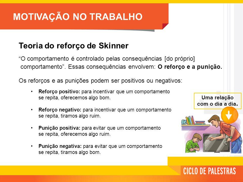 Teoria do reforço de Skinner