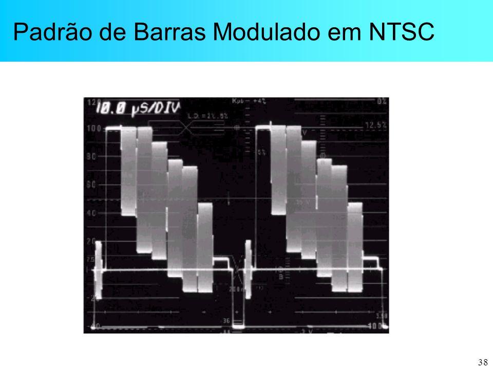 Padrão de Barras Modulado em NTSC