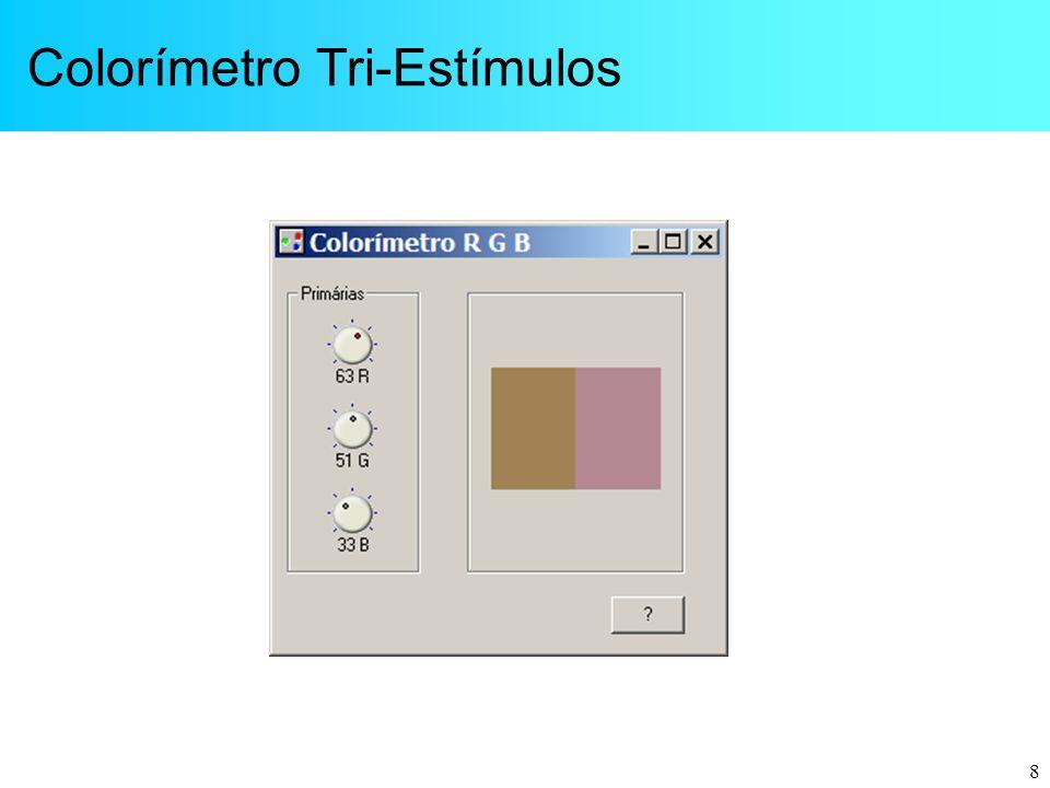 Colorímetro Tri-Estímulos