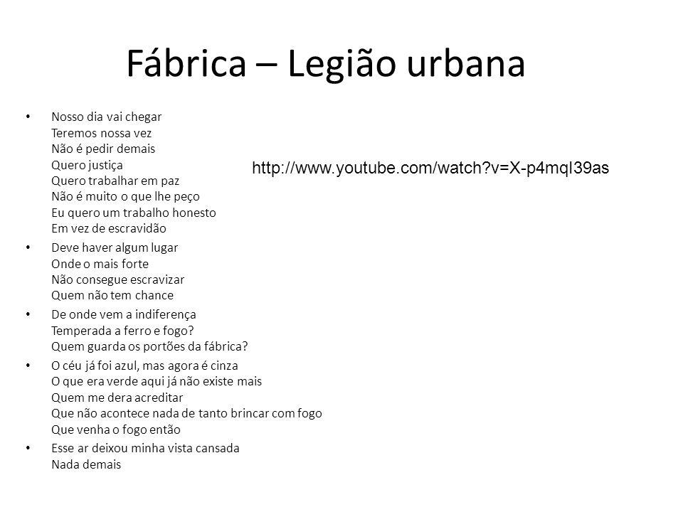 Fábrica – Legião urbana