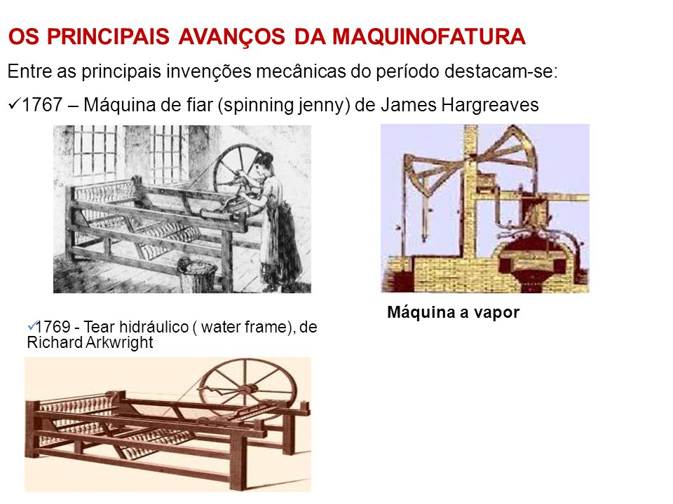OS PRINCIPAIS AVANÇOS DA MAQUINOFATURA