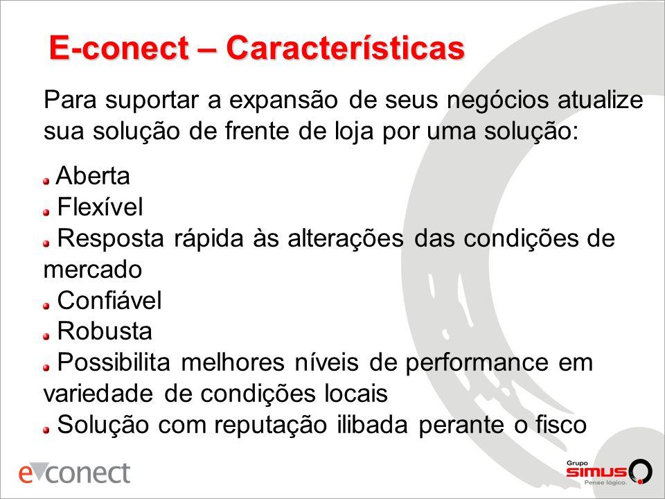 E-conect – Características