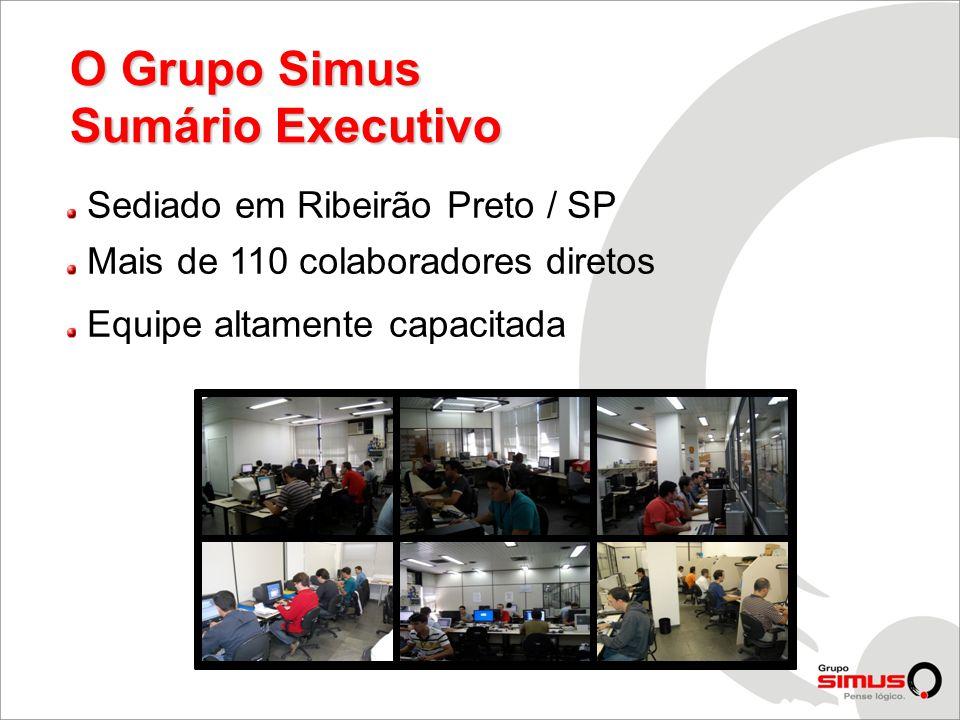 O Grupo Simus Sumário Executivo Sediado em Ribeirão Preto / SP