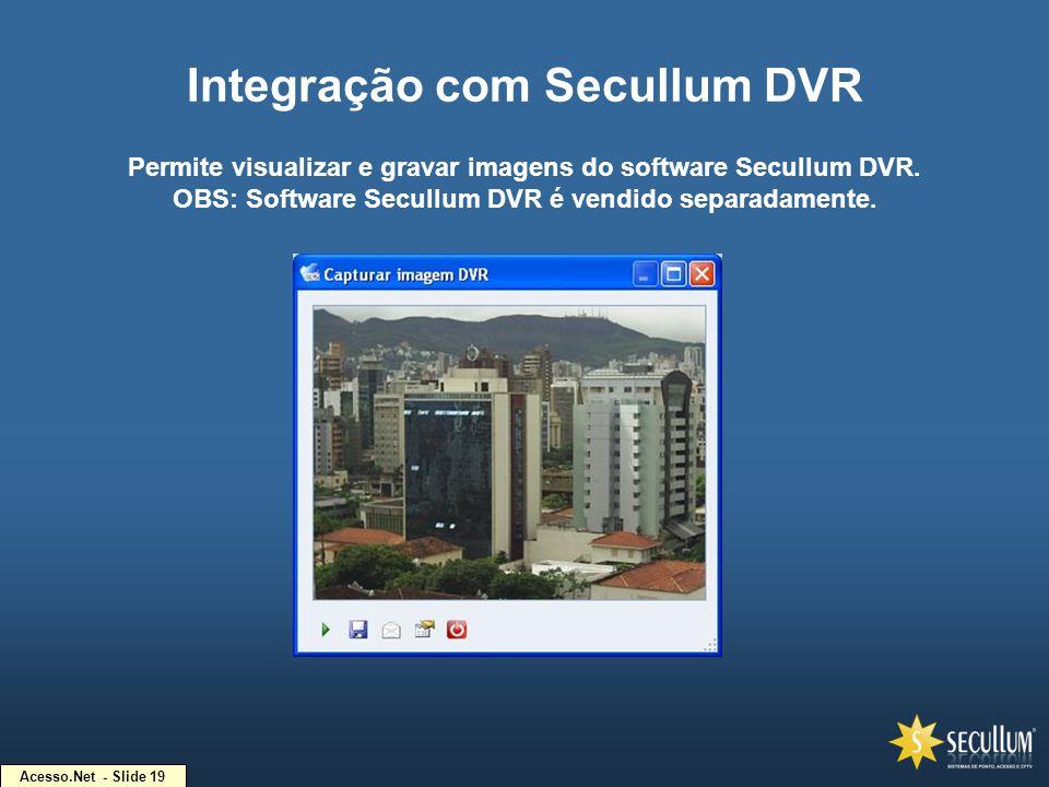 Integração com Secullum DVR