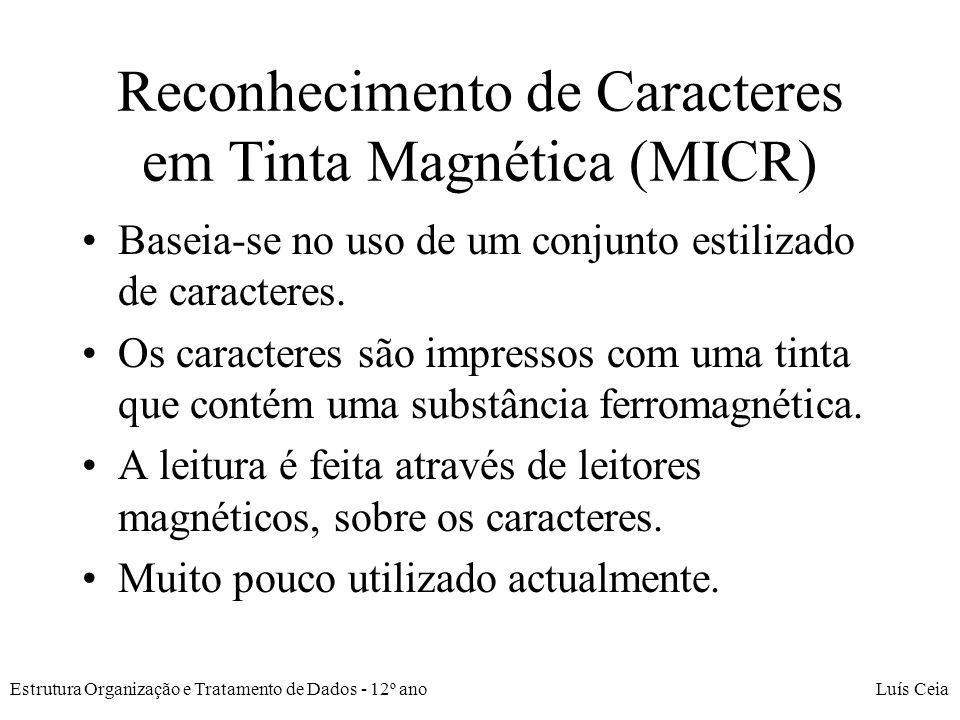 Reconhecimento de Caracteres em Tinta Magnética (MICR)