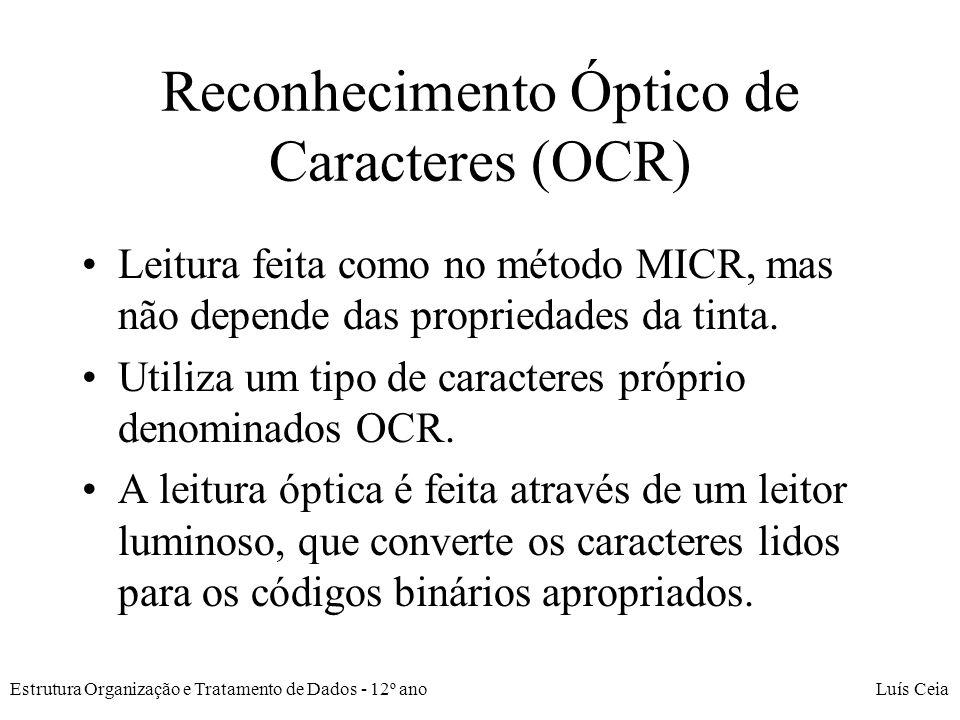 Reconhecimento Óptico de Caracteres (OCR)