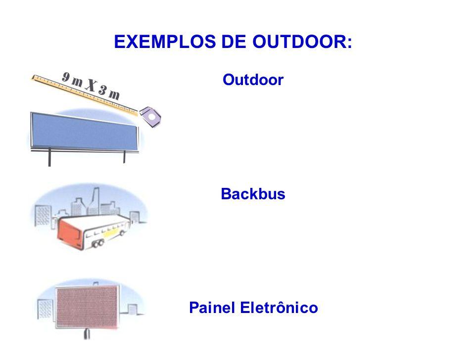Outdoor Backbus Painel Eletrônico