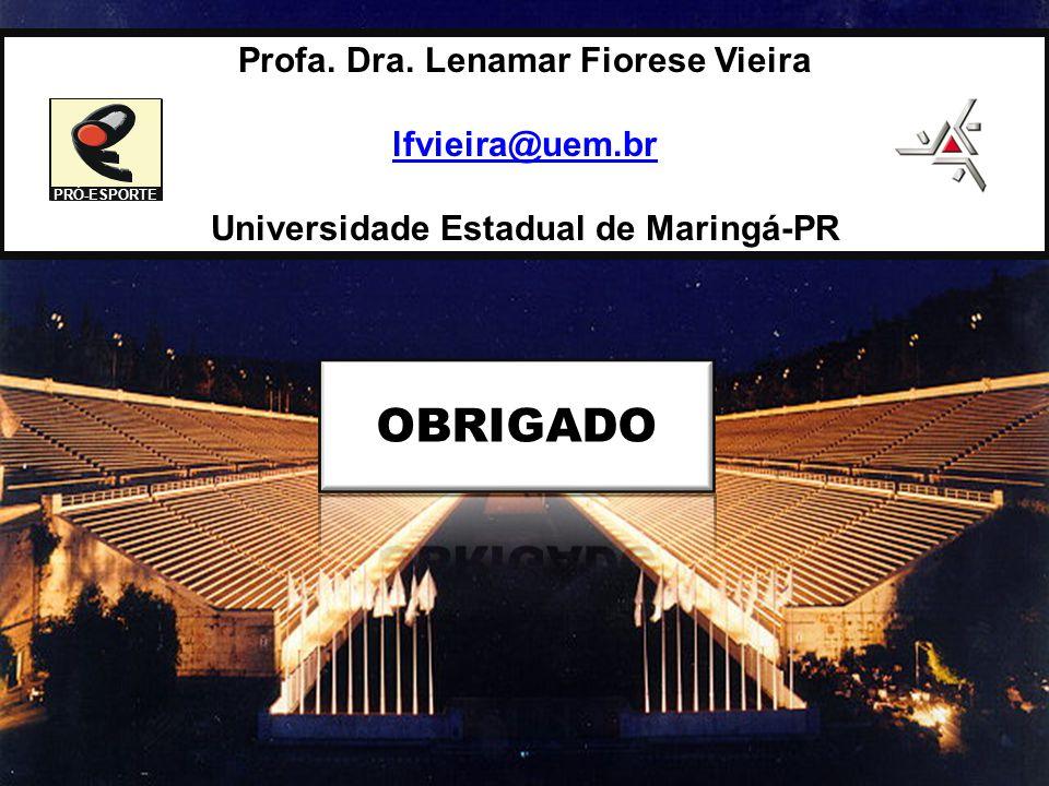 Profa. Dra. Lenamar Fiorese Vieira Universidade Estadual de Maringá-PR