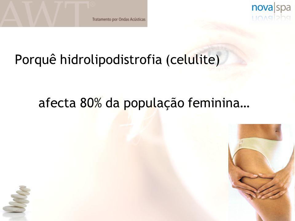 Porquê hidrolipodistrofia (celulite)