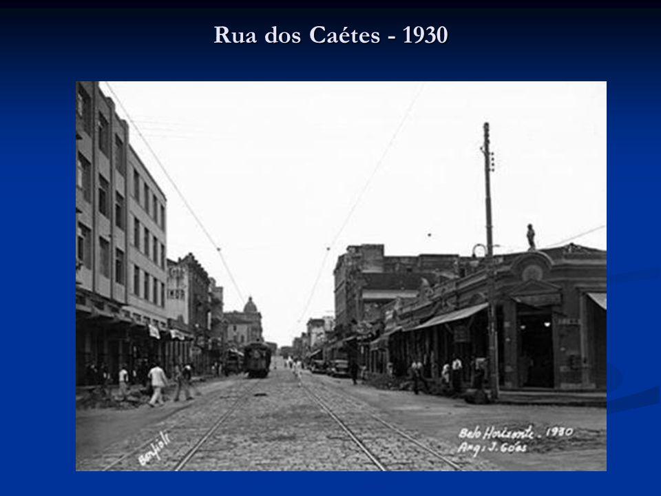 Rua dos Caétes - 1930