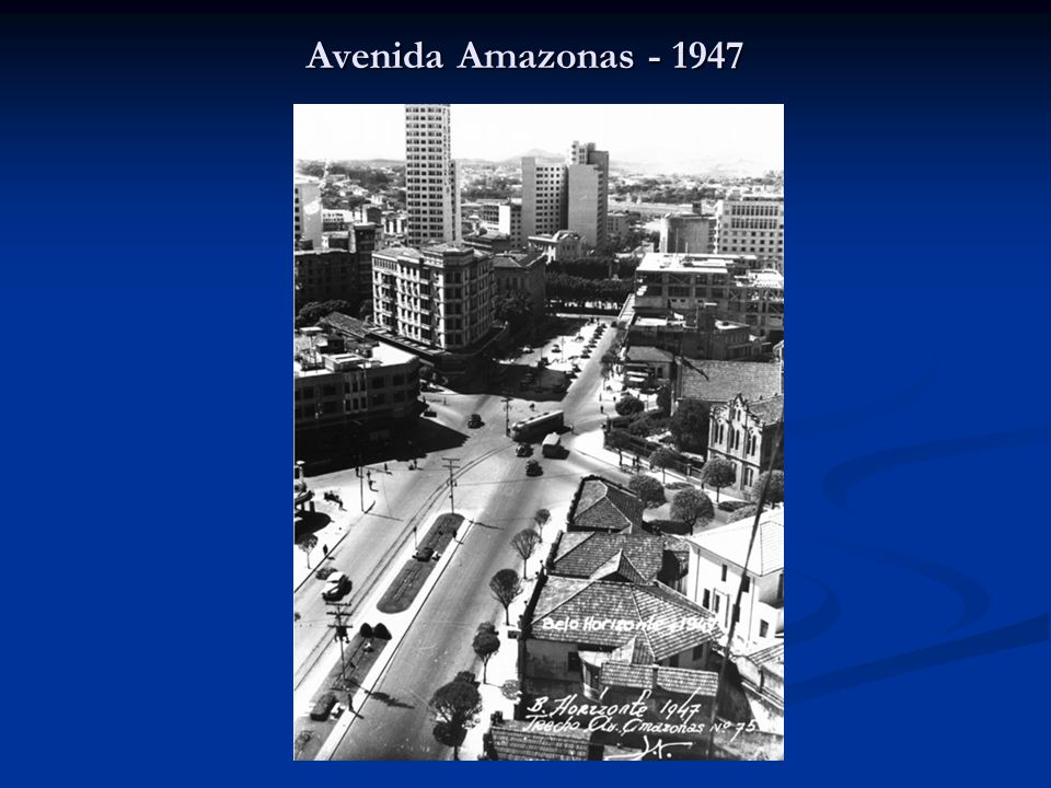 Avenida Amazonas - 1947