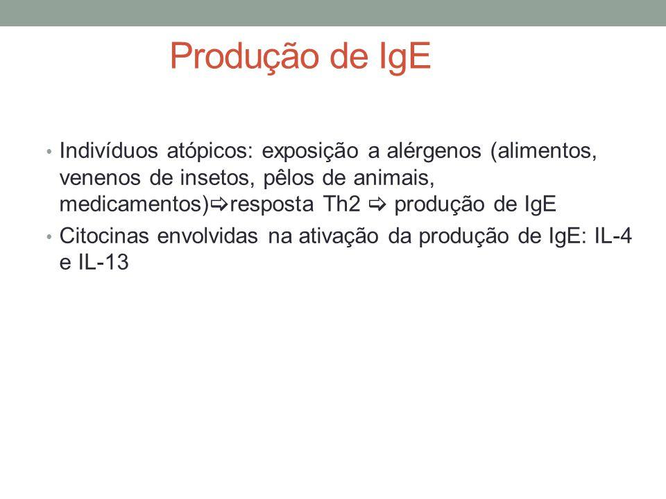 Produção de IgE