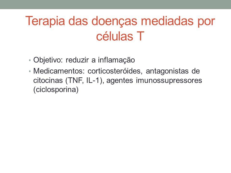 Terapia das doenças mediadas por células T