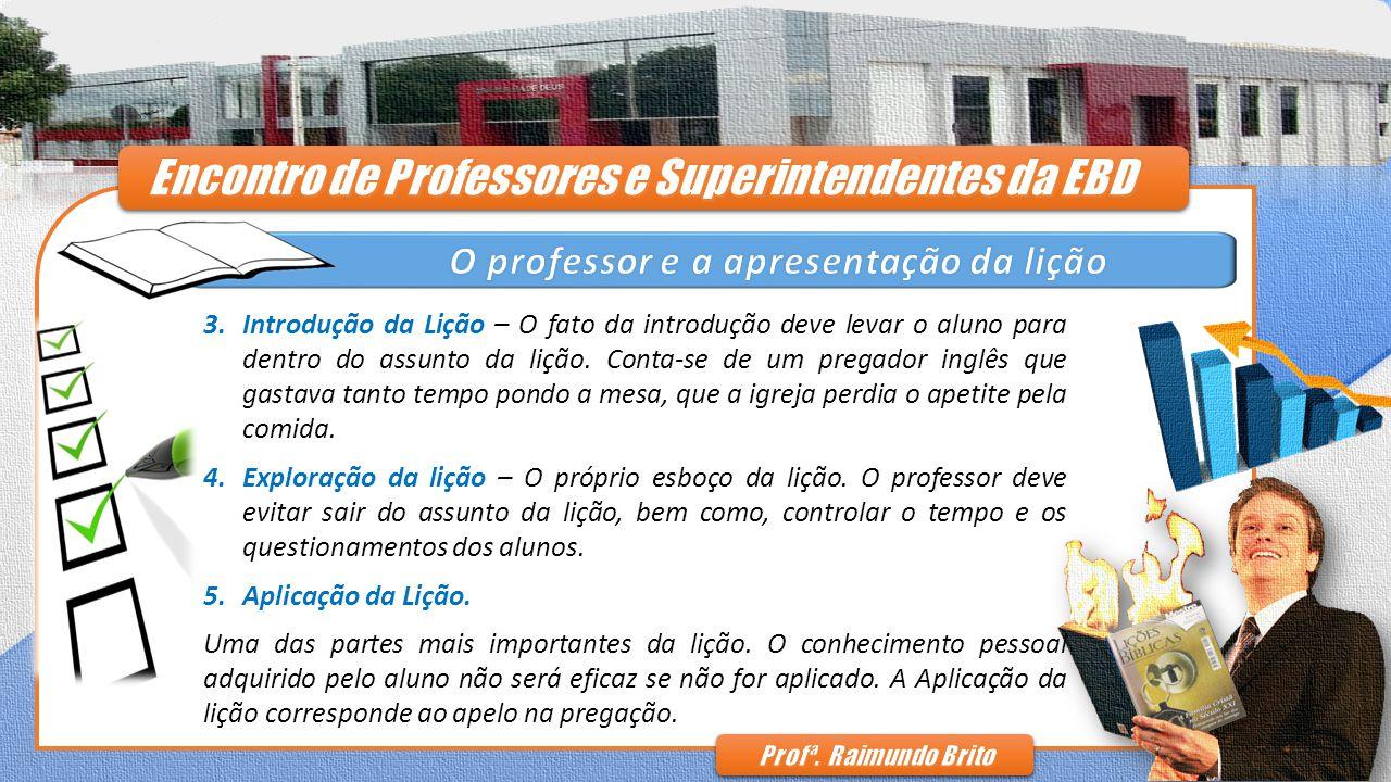 Encontro de Professores e Superintendentes da EBD