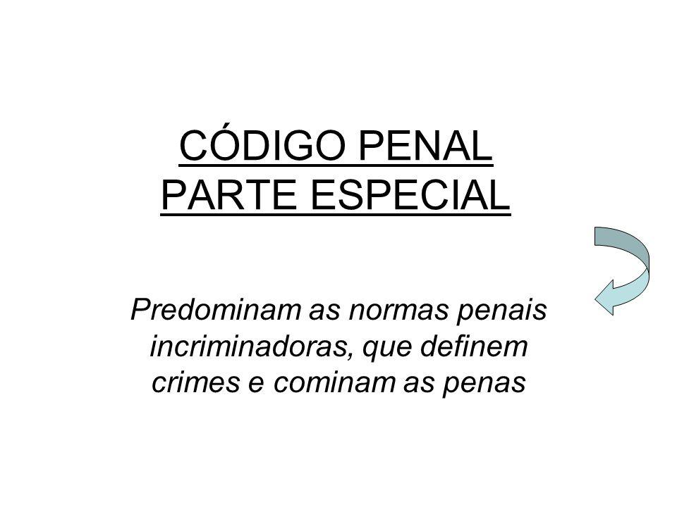CÓDIGO PENAL PARTE ESPECIAL