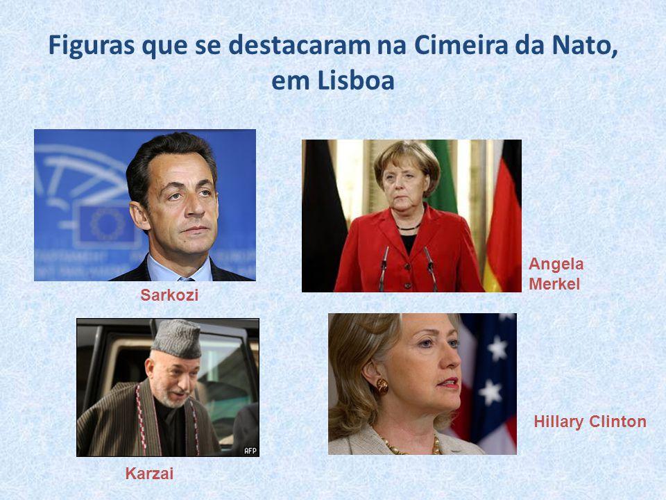 Figuras que se destacaram na Cimeira da Nato, em Lisboa