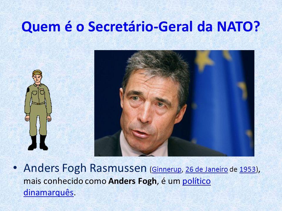 Quem é o Secretário-Geral da NATO