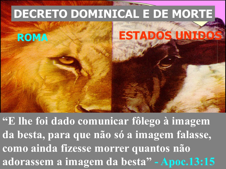 DECRETO DOMINICAL E DE MORTE