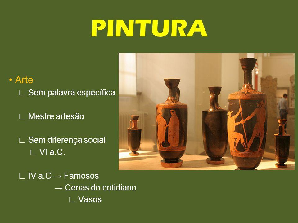 PINTURA • Arte ∟ Sem palavra específica ∟ Mestre artesão