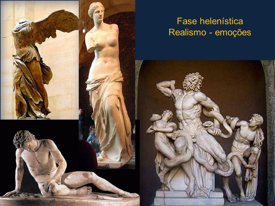 Fase helenística Realismo - emoções