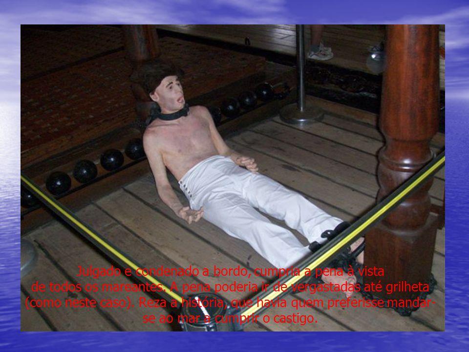 Julgado e condenado a bordo, cumpria a pena à vista