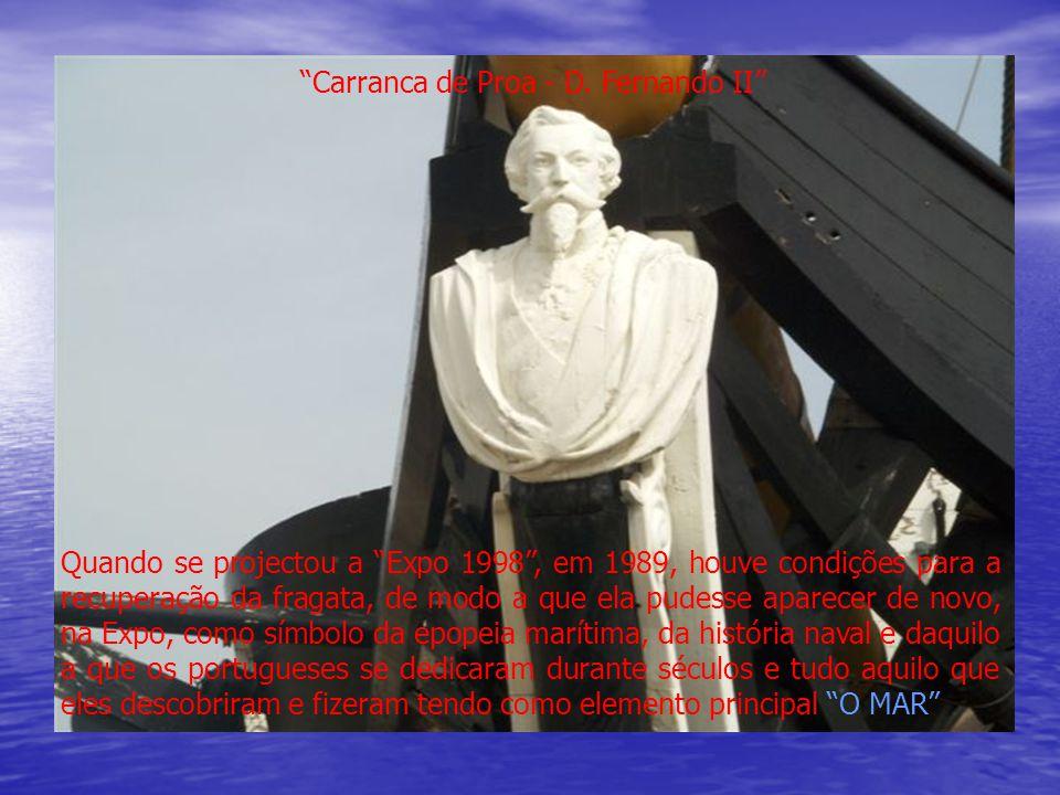 Carranca de Proa - D. Fernando II
