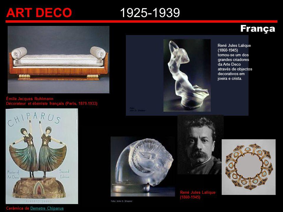 ART DECO 1925-1939 França.