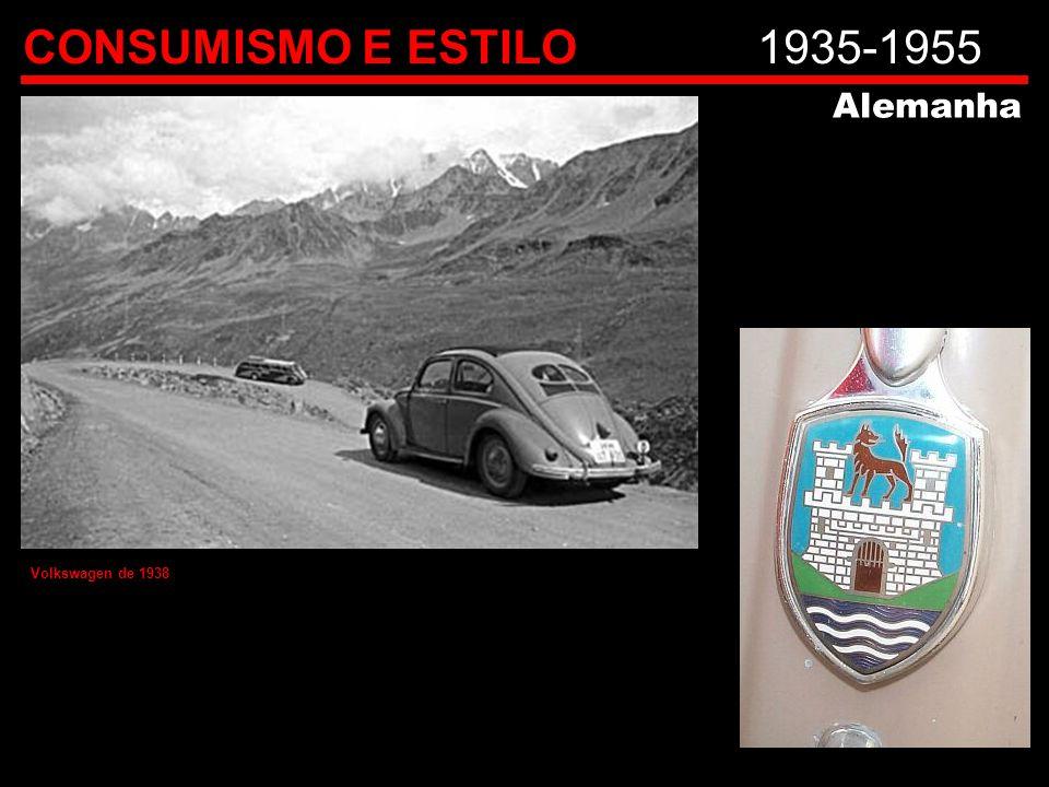CONSUMISMO E ESTILO 1935-1955 Alemanha Volkswagen de 1938