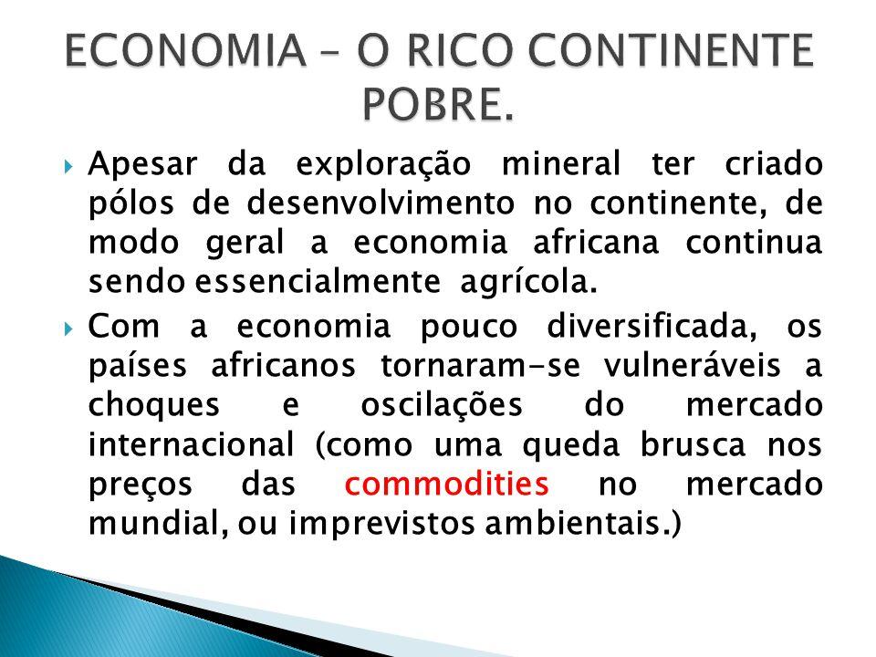 ECONOMIA – O RICO CONTINENTE POBRE.