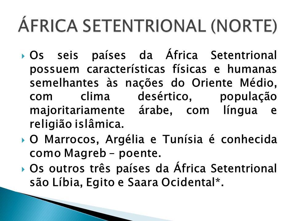 ÁFRICA SETENTRIONAL (NORTE)