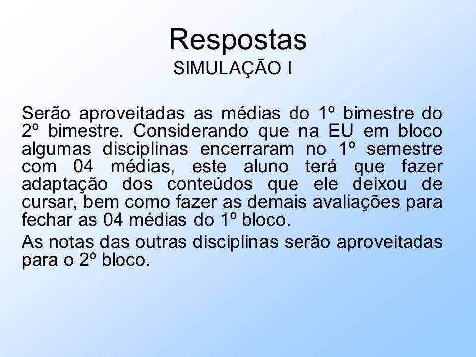 Respostas SIMULAÇÃO I.