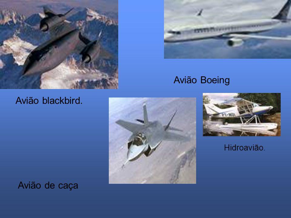 Avião Boeing Avião blackbird. Hidroavião. Avião de caça