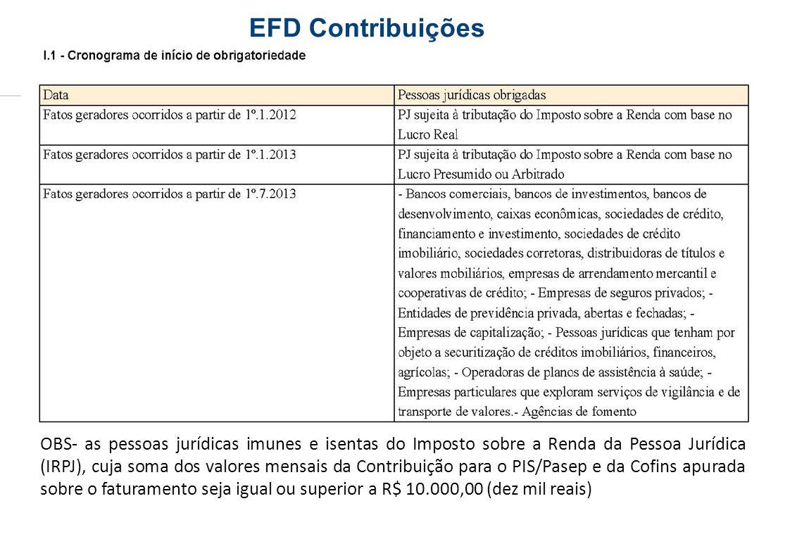 EFD Contribuições
